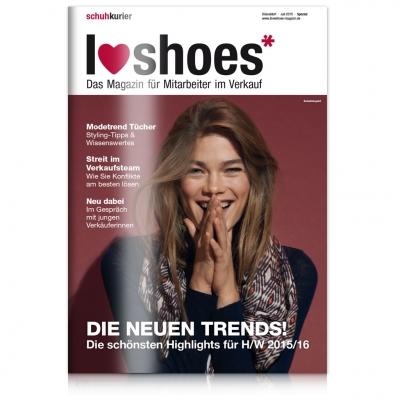 I love shoes Ausgabe 07/2015