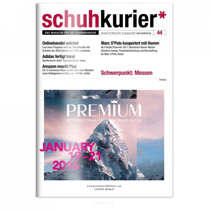 schuhkurier Ausgabe 44/2015
