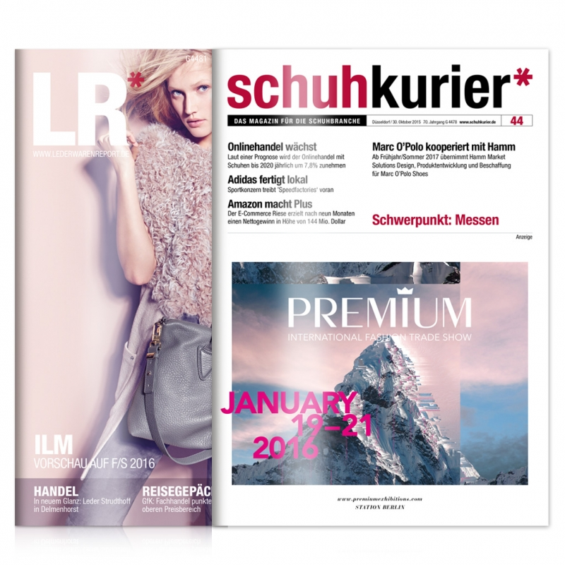 schuhkurier und Lederwaren Report Print+ Kombi