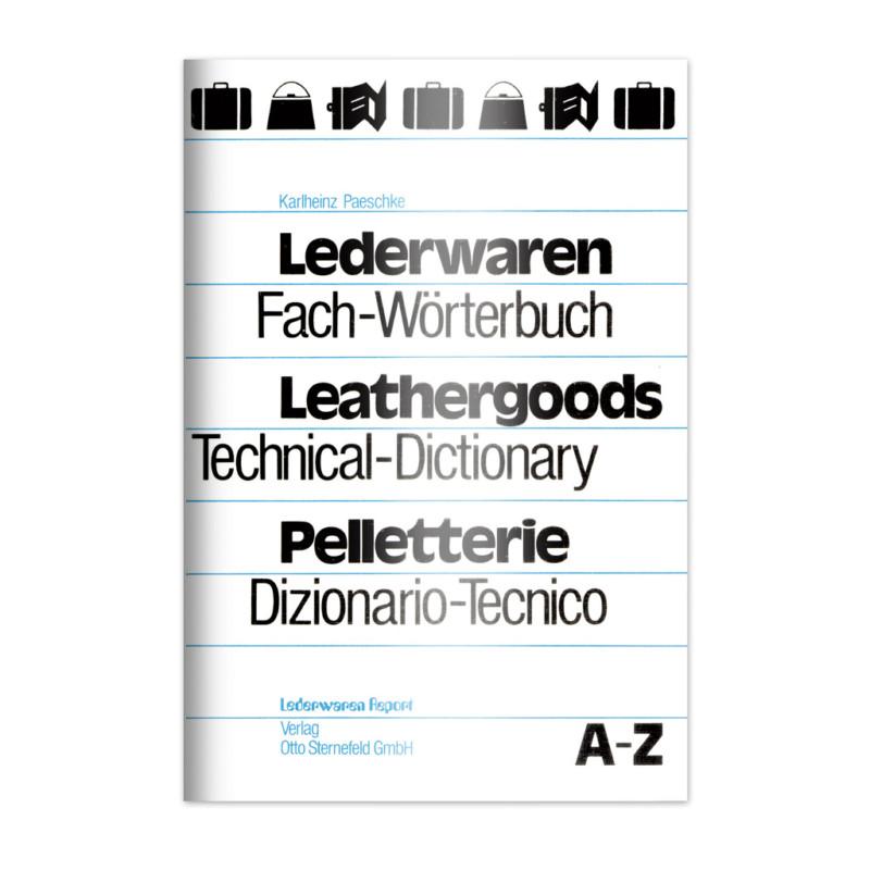 Lederwaren Fachwoerterbuch | Verlag Sternefeld